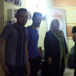 Mr. Saad Salloum General Coordinator of the Foundation paths cultural and media development, received Dr. Rhea Qahtan