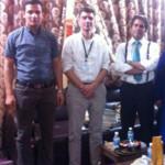 Mathieu Goodstein visits Masarat