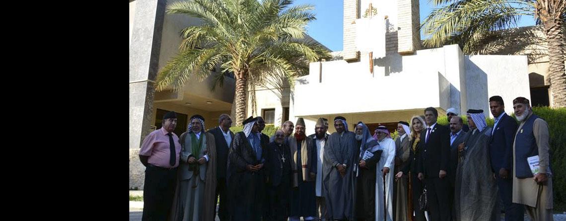 Iraqi British Spiritual meeting to face violence