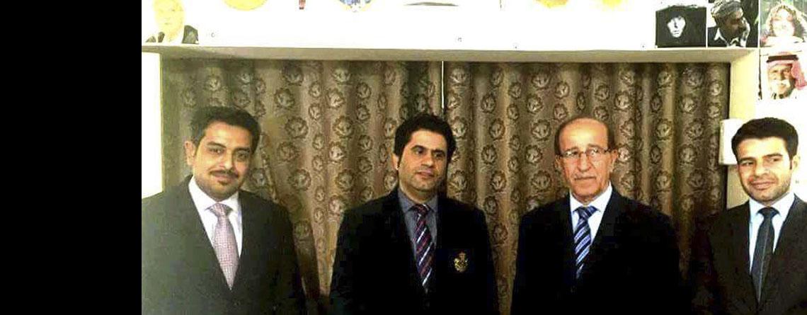 Diplomatic Delegation Visits Masarat