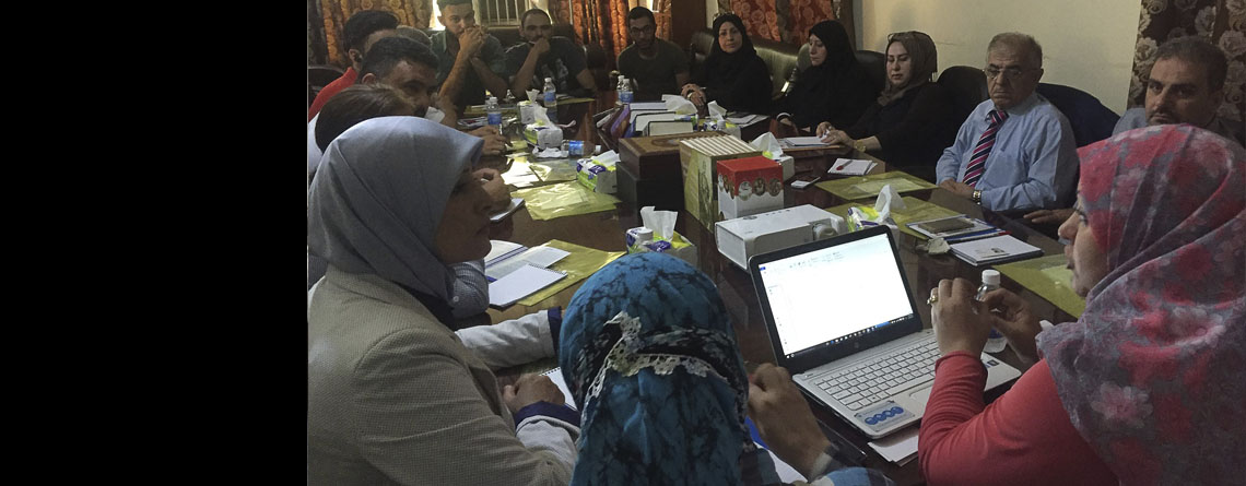 Civil and Media Committee Holds its Meeting in a Bid to Support the Process of Enacting a Law for Protecting the Displaced People and Managing Crisis.