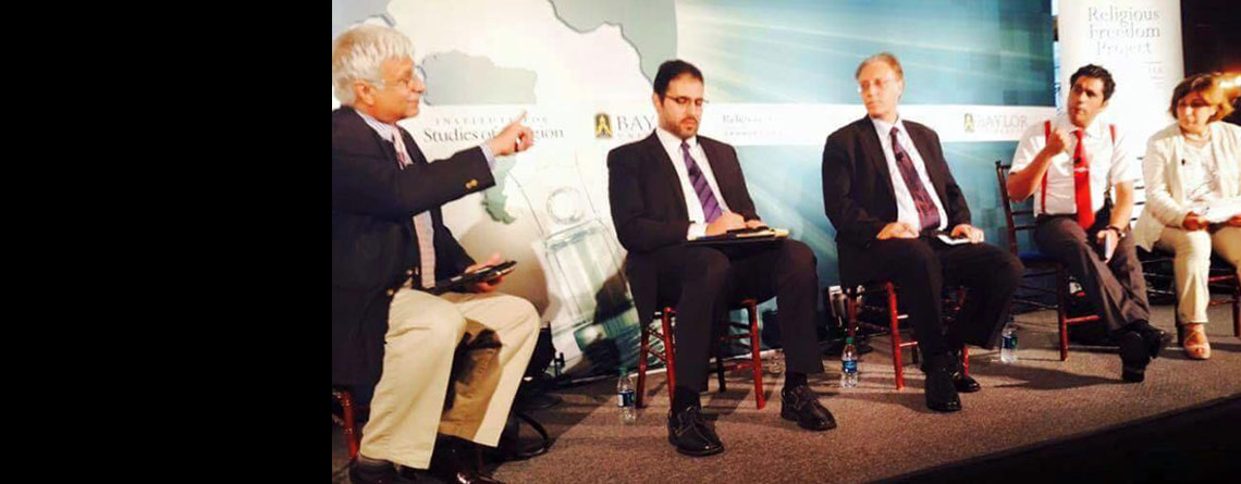 In Georgetown Conference Masarat Suggests Policies for Rebuilding Trust among Minority Segments